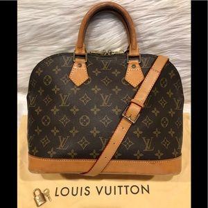 Authentic Louis Vuitton Alma Tote #2.7D